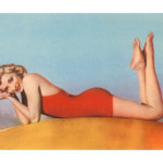 Blonde-pin-up